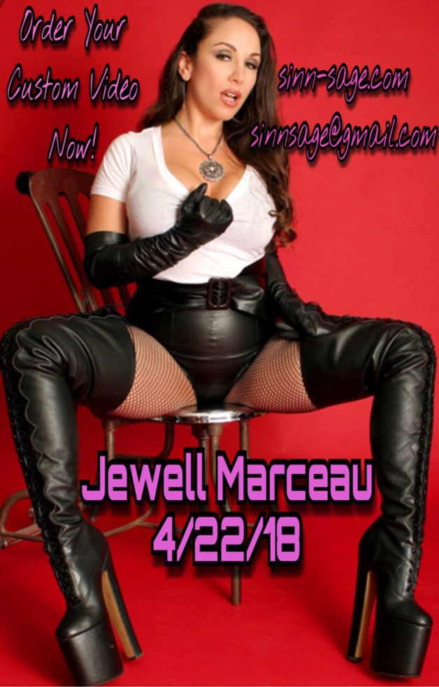 Request custom videos with Jewell Marceau